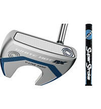 White Hot RX Mallet Putter with SuperStroke Flatso Grip
